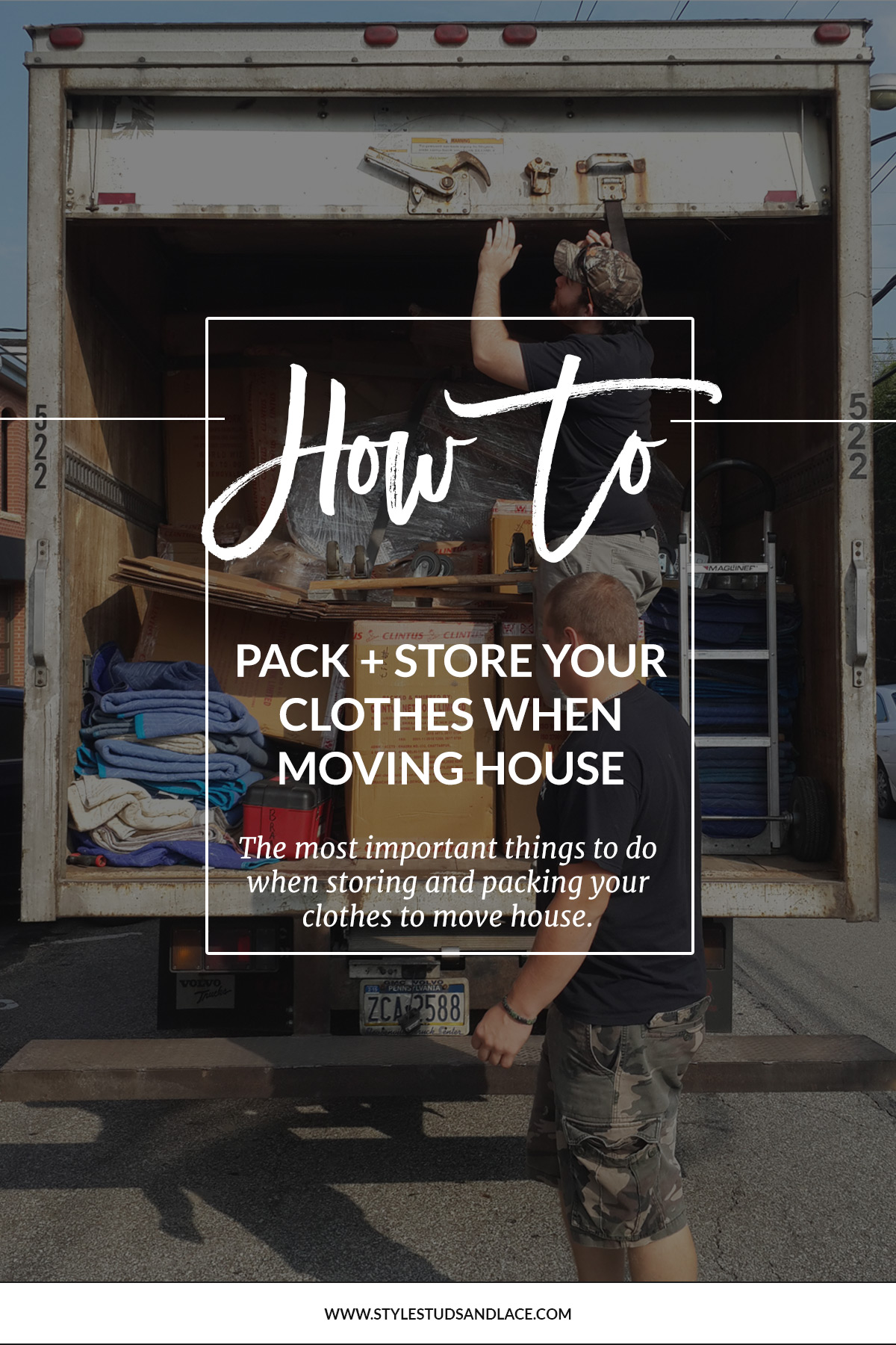 3 things you must do when prepping, packing and storing your clothes to move house | How best to look after and pack your clothing when you move house