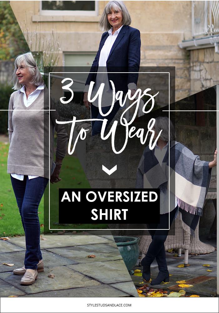 how to, what to wear, 3 ways to wear, hourglass shape, shirt, button up, long shirt, collared shirt, sleeveless shirt, denim, seasoned fashionista, over 50, over 60