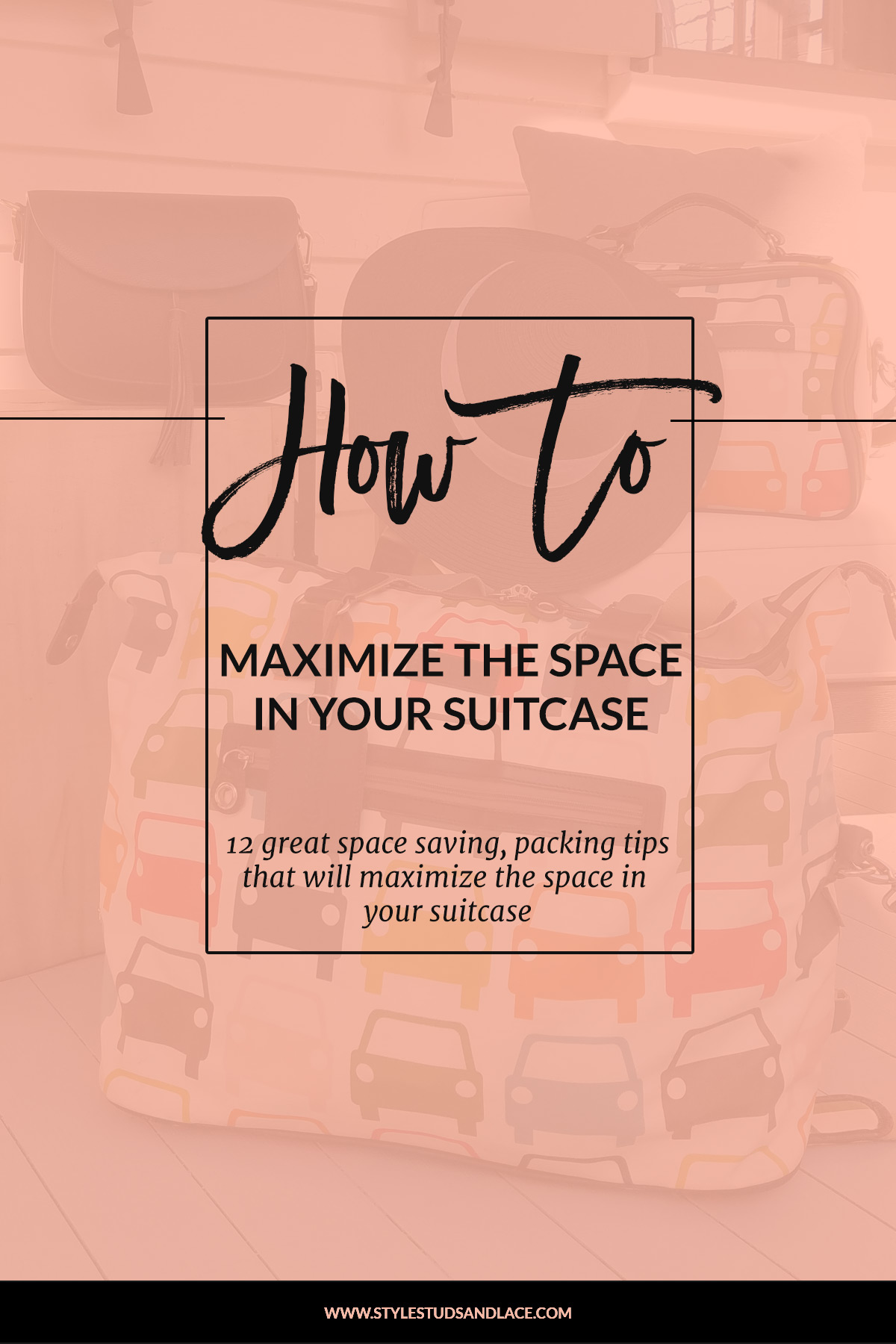 12 great packing tips that will maximize the space in your suitcase, protect your items and save you time when you arrive at your destination | How to pack efficiently for a vacation and save space in your luggage, and ensure that your items are in great condition when you unpack