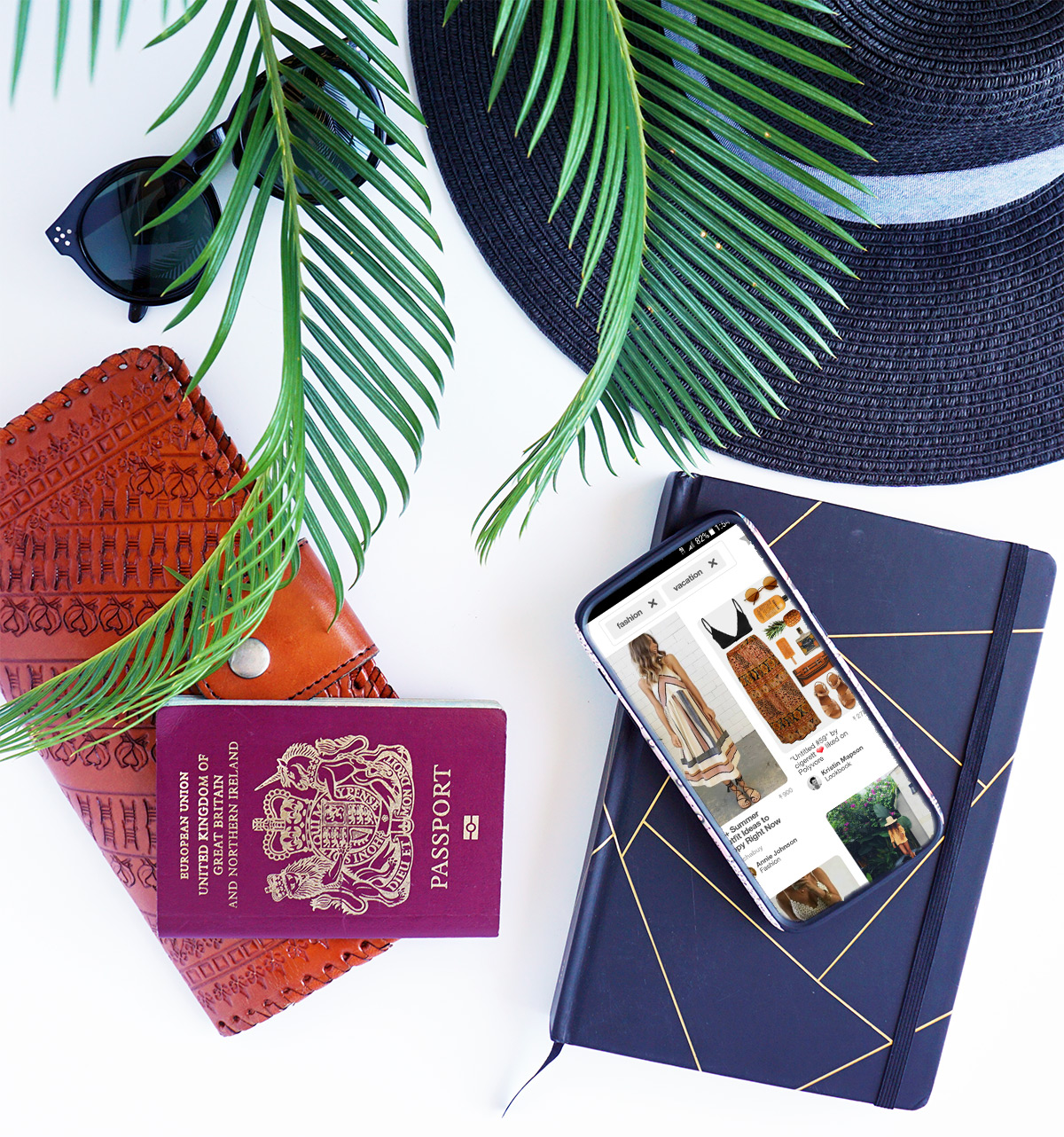 How to prep and pack for a vacation | Simple tips to help you plan your vacation outfits and create a hard-working capsule vacation wardrobe