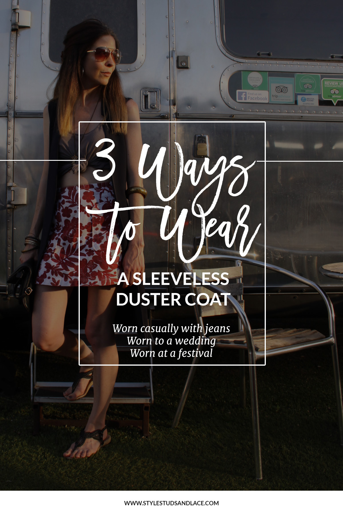 How to wear a sleeves duster or vest | sleeveless coats can be worn in so many ways, wear them over a dress for an extra layer of warmth, wear them casually with jeans or go boho and wear it to a festival