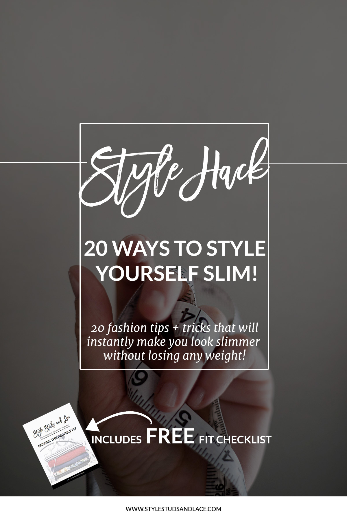 20 ways to look slimmer without losing weight | Style yourself slim, dress to look thin, style advice, fashion tricks, lose weight, look skinny, style tips, style hack, top tips, solutions, fit, size, women, large, curvy, oversized